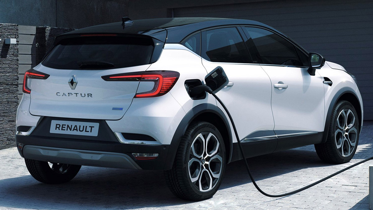 CAPTUR HIBRIDO ENCHUFABLE EXTERIOR