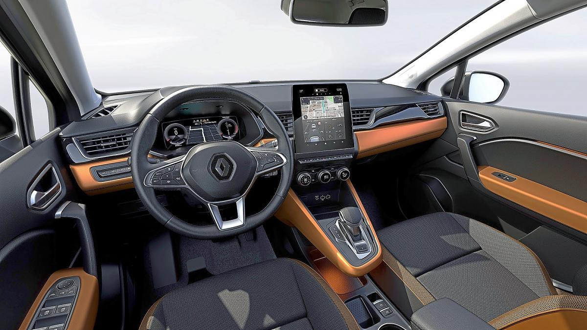 CAPTUR HIBRIDO ENCHUFABLE INTERIOR
